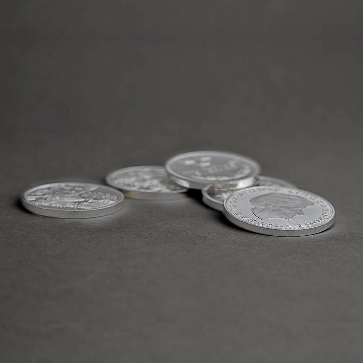 Sälja silvermynt