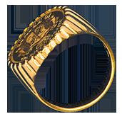 guldpris Finguld klackring